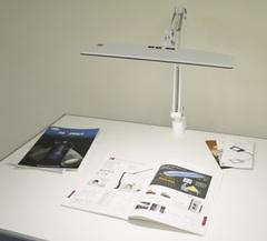 興和・LUPINUS大型面発光LEDアームライト(クランプ式)EK263