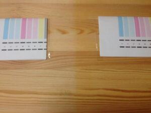 コピー用紙およびセロハンテープによる変質もなし