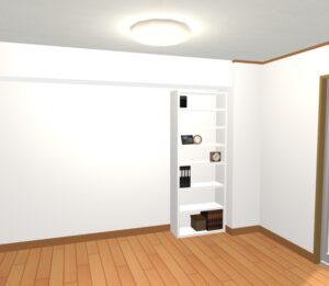 背の低い家具より背の高い家具を選ぶべし