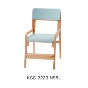コイズミファニテック・ファミトーン・積層タイプキッズチェアKCC-2223 NSBL