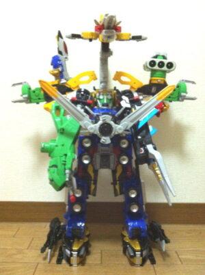 特命合体DXグレートゴーバスター全部乗せver.