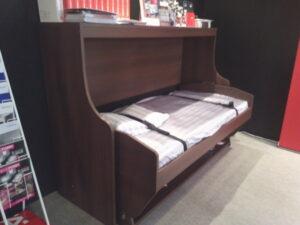 ハーフェレのデスクベッド(ベッド使用時)