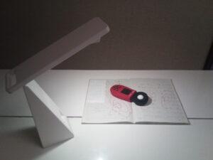 MJ-TLL1の照度を各部屋で測定