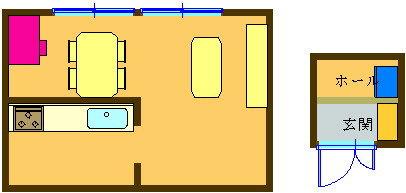 7. LDのデスクで学習し、玄関の棚などに収納