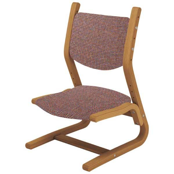 ベネッセ×カリモク家具・集中力はぐくみチェア 高さ成長タイプ ファブリック限定柄
