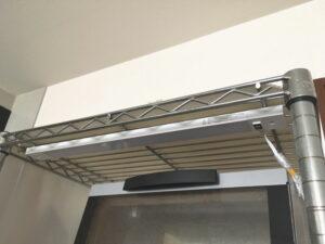 山田照明の新商品・棚下灯「ZM-015」をルミナスラックに取り付けてみた