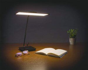 エコリカ・OLED SKY 次世代照明有機ELデスクライト EELM-SKY100-W