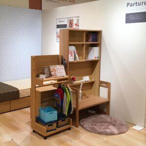 カリモク家具「Parture(パーチャー)」パーテーションデスクSU3902ME
